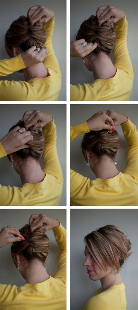 step to step guide on french roll hair tutorials how to french twists pretty designs