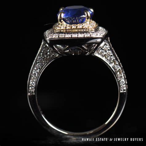 Blue Sapphire 13 80 Ct shop hawaii estate jewelry buyers