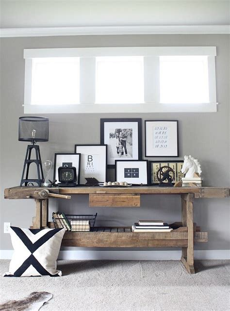 modern rustic console table stunning rustic modern console tables