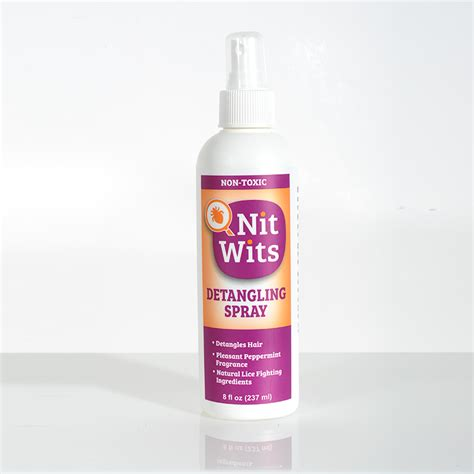 Nit Wits : Products : Detangling Spray
