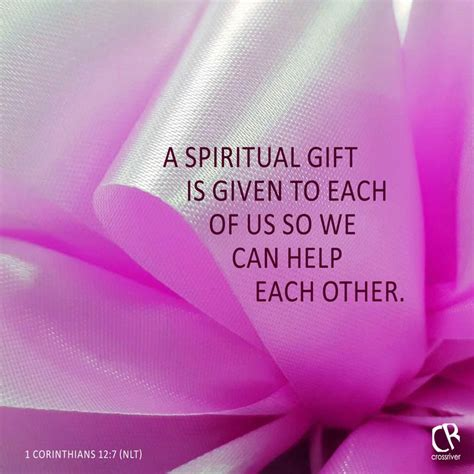 What Is Spiritual Gifts Of Helps