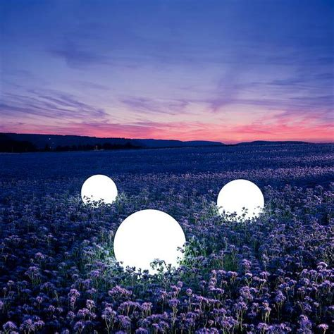 Lighted Spheres Outdoor Light Sphere