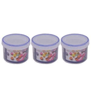 Cosmo 3 Pc Plastic Storage Containers Set from Cosmo