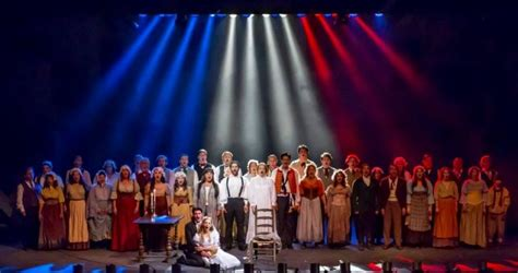 Les Miserables Returns To Broadway by Bww Reviews New Jersey College Gets A Les