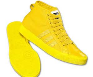 Shoes Yellow Men S Adidas Originals Nizza Hi Shoes Yellow Sneaker