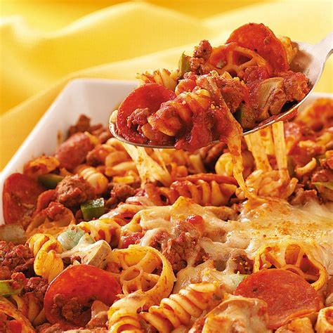 Todays Special Pasta With Sausage Basil And Mustard by Pepperoni Pasta Recipe Taste Of Home