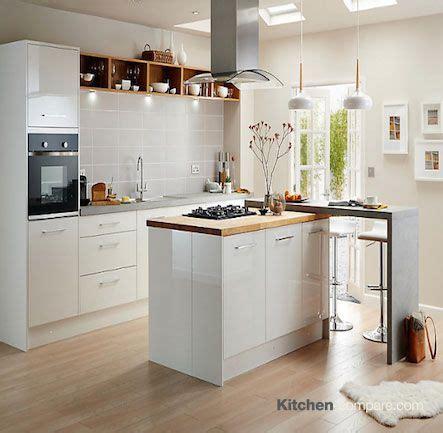 Kitchen Lighting At B And Q B Q Cooke Lewis Raffello High Gloss White Crisp White