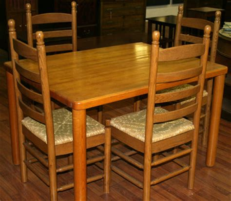 30 inch kitchen table kitchen table with four 4 ladder back chairs table 30