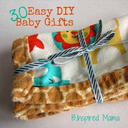 Easy Handmade Baby Gifts - 17 best images about all about baby on
