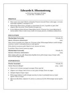 Best Free Resume Templates Word by 20 Best Free Resume Templates Microsoft Word