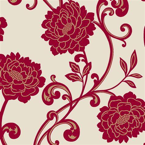 black and white floral wallpaper b q diy at b q