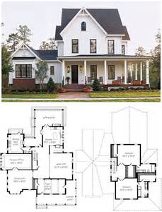 farmhouse building plans best 10 farmhouse floor plans ideas on