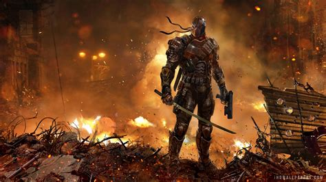 cool dc wallpapers 13 cool deathstroke wallpapers blogoftheworld