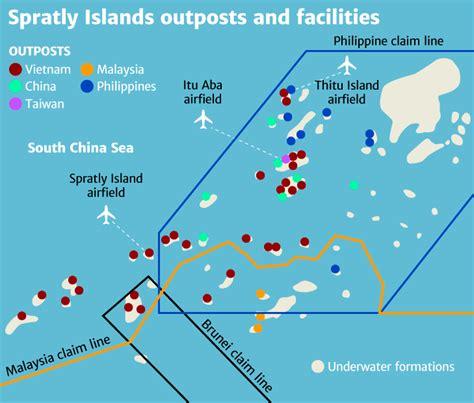 spratly islands map duterte backs hawkish rhetoric spratly islands foreign policy blogs