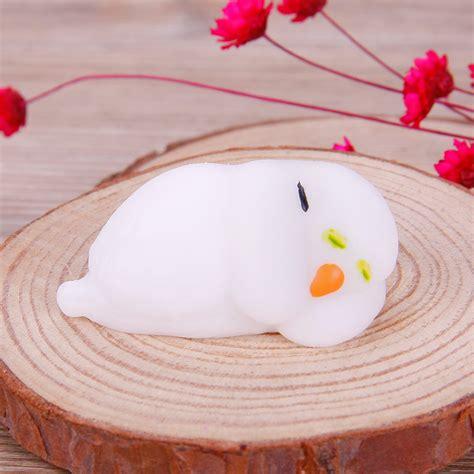 Soft And Slowrise Squishy Bathing Animal By squishy soft toys rising simulation animal cat paws fidget alex nld