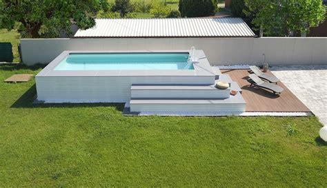 piscine rivestite in legno le 25 pi 249 piscine fuori terra rivestite piscine