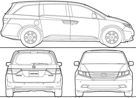 Honda Odyssey Interior Dimensions by The Blueprints Blueprints Gt Cars Gt Honda Gt Honda Odyssey Usa 2013