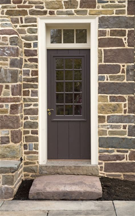 Exterior Door Companies Exterior Door With Large Window Sash Traditional Front Doors Philadelphia By Fredendall