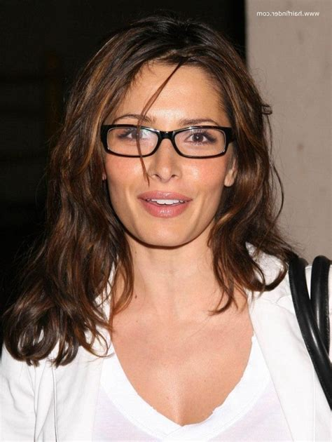 Hairstyles For With Glasses by 15 Photo Of Hairstyles With Glasses