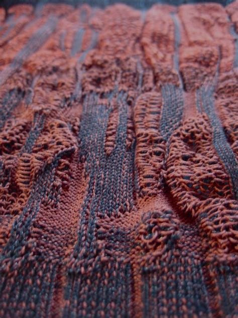 drop stitch knitting drop stitch plating machine knit dubied becky wood
