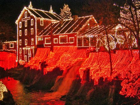 Clifton Mills Lights by Places To Go Buildings To See Clifton Mill