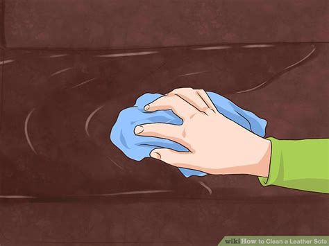 to clean leather sofa 4 ways to clean a leather sofa wikihow