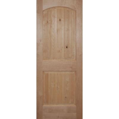 2 panel interior doors home depot builder s choice 2 panel arch top solid core knotty alder