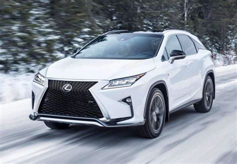 white lexus 2018 2018 lexus rx 350 release date review and specs