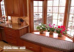 bay window kitchen ideas design kitchen with bay window basic tips