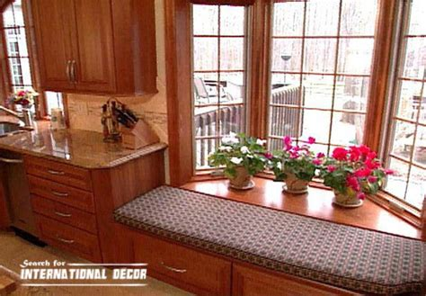 kitchen bay window decorating ideas design kitchen with bay window basic tips