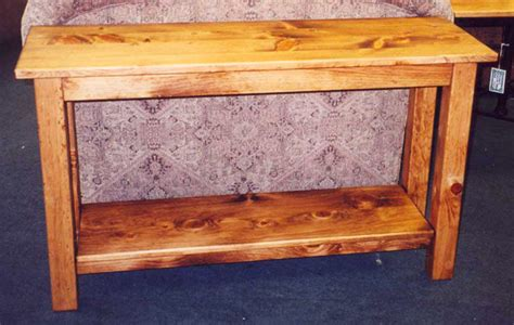 Unfinished Furniture Boulder by Pine Sofa Table Rustic Pine Sofa Table Foter Thesofa