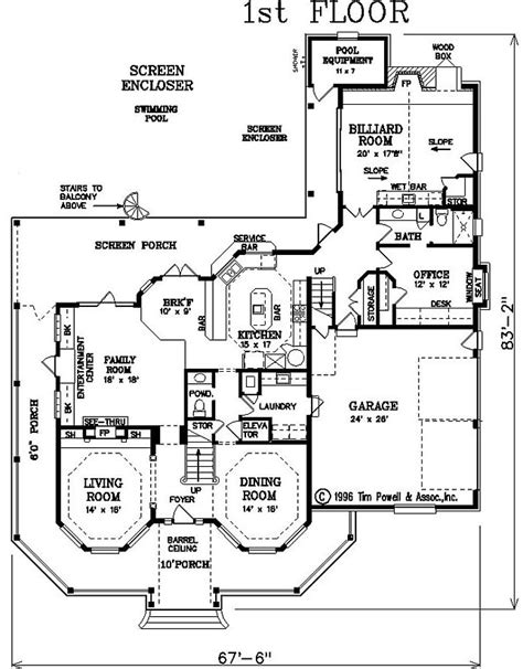 Victorian Floor Plan by Victorian House Plan Alp 085y Chatham Design Group