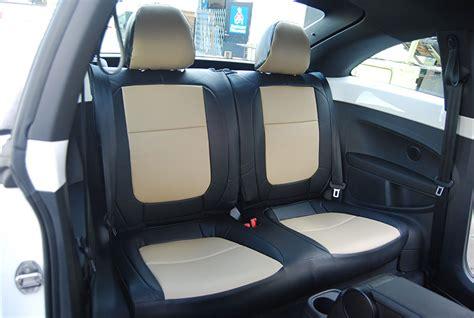 volkswagen beetle seat covers volkswagen beetle 2012 2014 leather like custom seat cover