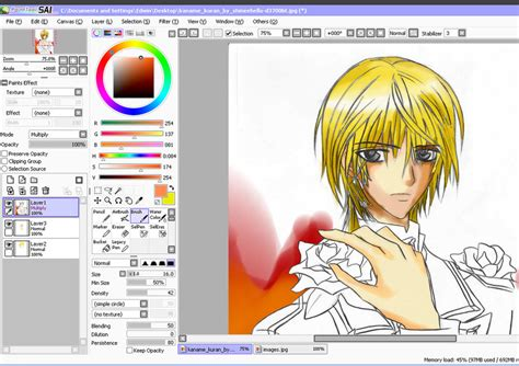 paint tool sai version free no trial paint tool sai trial by x cherubeam x on deviantart