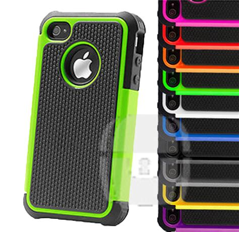 Hardcase Nilkin Iphone 4 4g 4s Back Cover Frosted Shield 1 armor heavy duty back cover for apple iphone or ipod touch 4 4g 4s 5 ebay