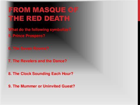 masque of the red death color symbolism quelques liens utiles