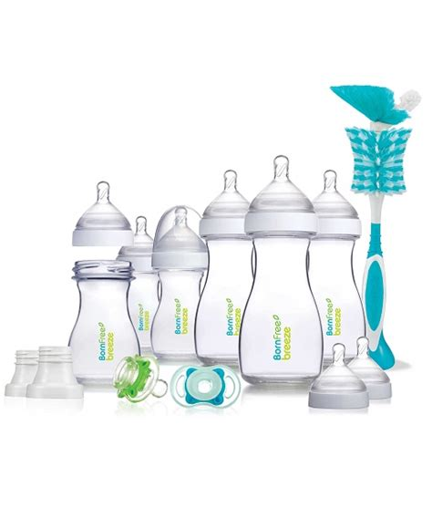 born perfect bottle born free 174 breeze bottle deluxe gift set in clear