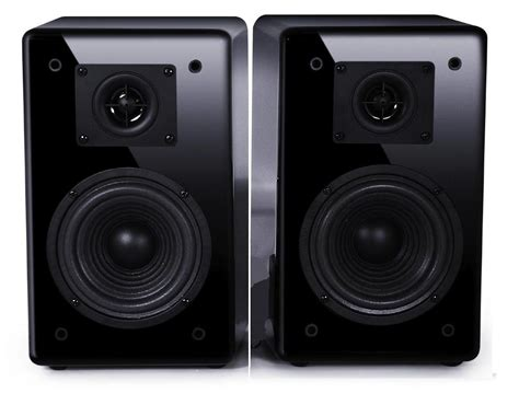 fatman itube carbon high quality 2 way bookshelf speakers