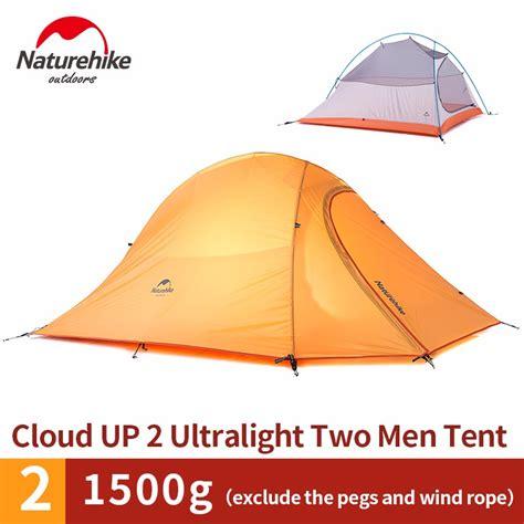 Tenda Cing Ultralight Naturehike Cloud Up 2 naturehike cloud up 2 ultralight light weight 2 tent layers weatherproof aluminum