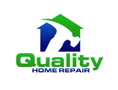 quality home repair logo design 48hourslogo