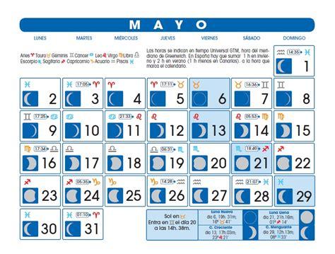 lunas mes de mayo 2016 lunas mayo astrologia y vida