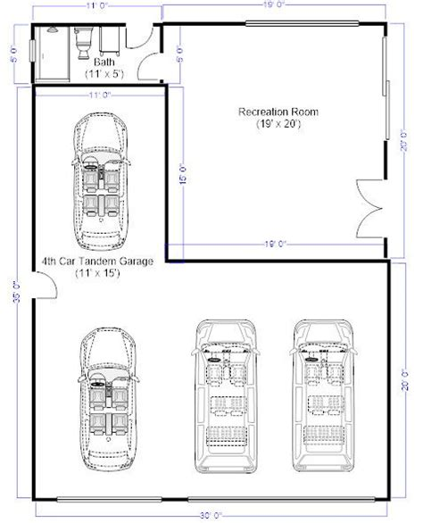 size of 3 car garage 33 best house plans images on pinterest architecture