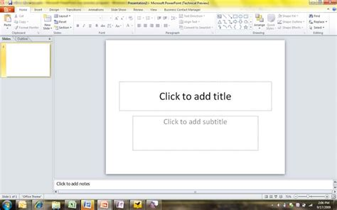 design for microsoft office powerpoint 2010 microsoft office 2010 a first look at powerpoint web app