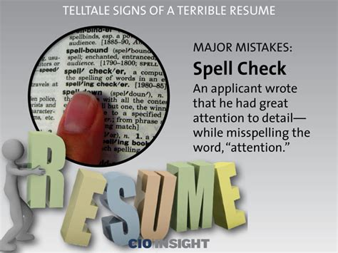 telltale signs of a terrible resume