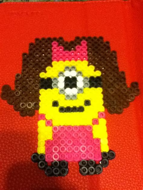 minion melty despicable me minion perler by marsh