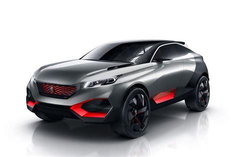 peugeot suv concept peugeot reveals quartz hybrid suv concept autocar