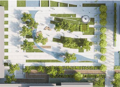 Landscape Architecture Plan Parking Lot Plan Search Sketch