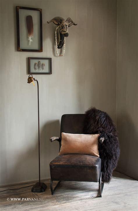 vintage stoel austerlitz bruine leren stoel excellent awesome bruin leer with
