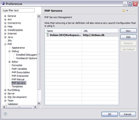 configure xp with eclipse pdt christophe le bot 187 configurer xdebug pour eclipse pdt en