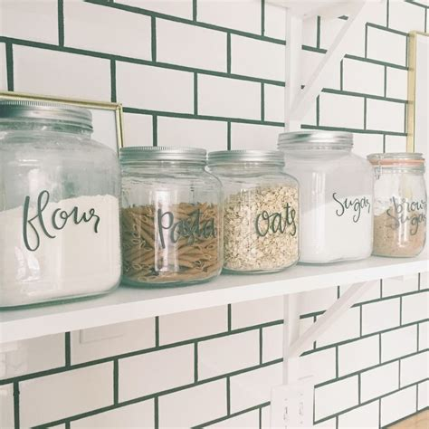 kitchen canister labels best 25 kitchen canisters ideas on